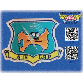 空軍第四管制報告中隊 隊徽臂章